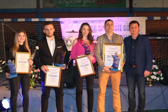 Izabrani najbolji sportisti Grada Gradačac za 2019. godinu
