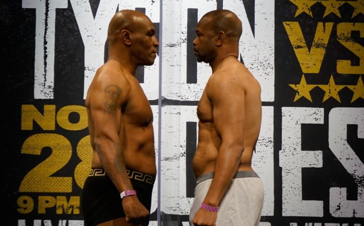 Povratnička borba dvojice legendarnih boksera: Tajson skoro pet kilograma teži od Džonsa