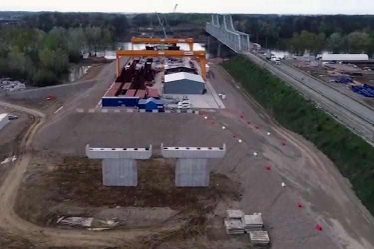 Izgradnja auto-puta Beograd-Sarajevo: Most na Savi biće dugačak 1.310 metara