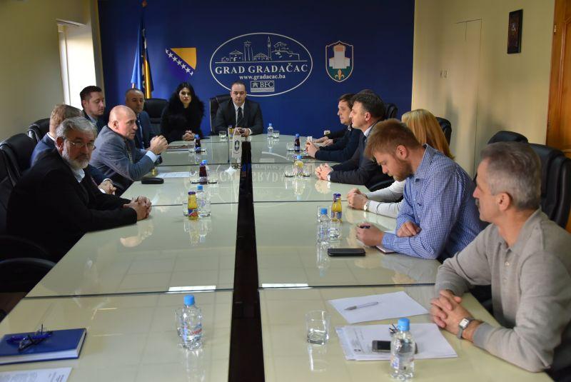 Delegacija Vlade TK posjetila Grad Gradačac