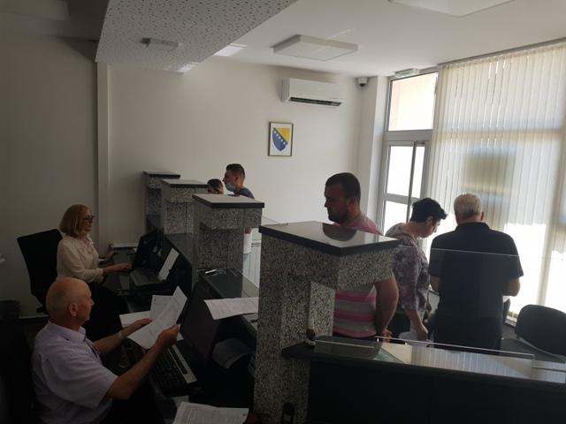 Početak rada Matičnog ureda Gradačac u novim prostorijama