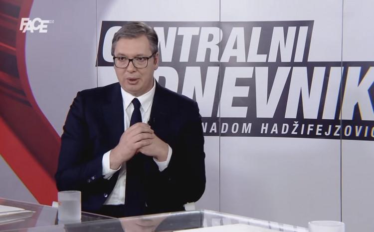 Intervju Senada Hadzifejzovića i Aleksandra Vučića; Ne pravim veliku Srbiju, nisam pucao na Sarajevo, ne komadajte vi Srbiju!