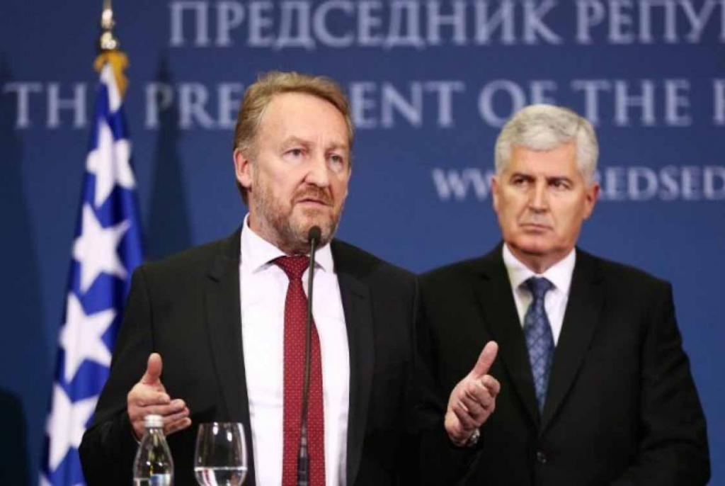 Sastali se Izetbegović i Čović, zajednički prioritet stabilizacija političke situacije u BiH